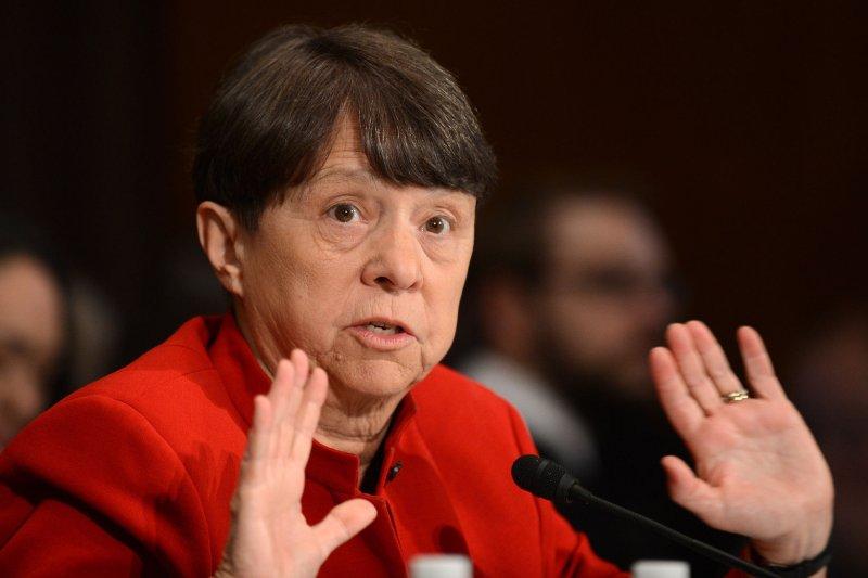 SEC Chairman Mary Jo White. UPI/Kevin Dietsch