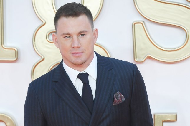American actor Channing Tatum attends the premiere of Kingsman: The Golden Circle at Odeon, Leicester Square in London on September 18, 2017. 20th Century Fox said it has reserved Feb. 14, 2019, for the release of Tatum's long-awaited X-Men spinoff Gambit. Photo by Rune Hellestad/ UPI
