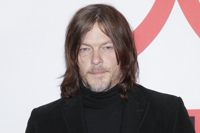 The Season 10 finale of Norman Reedus' AMC show The Walking Dead has been delayed because of the COVID-19 crisis.  File Photo by John Angelillo/UPI