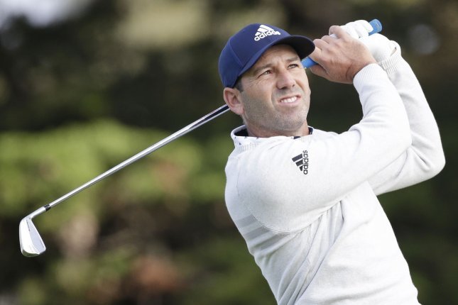 Sergio Garcia will miss his first major championship since 1999 after testing positive for COVID-19 and withdrawing from the 2020 Masters Tournament on Monday. File Photo by John Angelillo/UPI