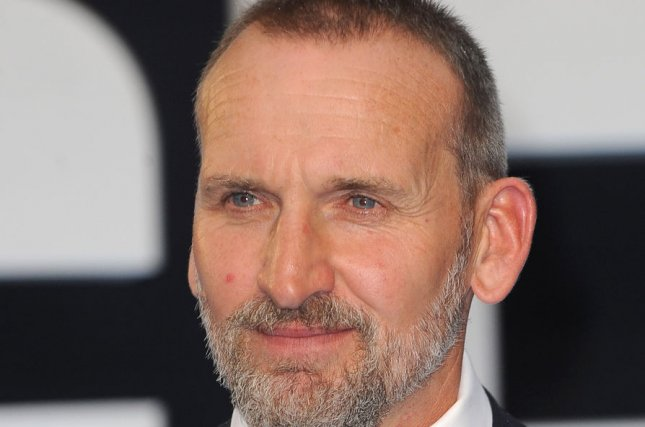 The A Word actor Christopher Eccleston attends the world premiere of Legend in London on September 3, 2015. File Photo by Paul Treadway/UPI