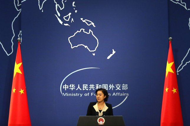 Chinese foreign ministry spokeswoman Hua Chunying said on Monday the North Korea nuclear issue cannot be solved solely through additional sanctions. File Photo by Stephen Shaver/UP