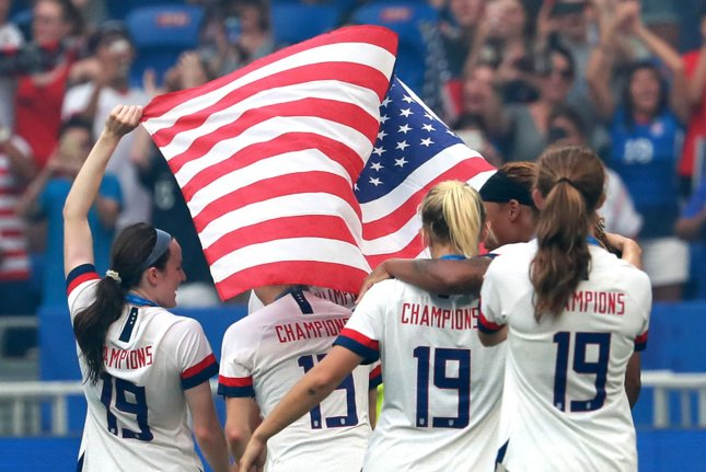 United States Women's National Team players from as far back as 2015 will now be represented in a gender discrimination lawsuit against the United States Soccer Federation.  Photo by David Silpa/UPI