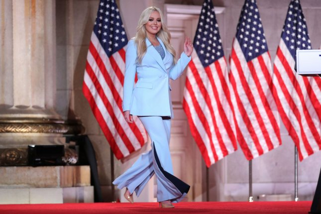 President Donald Trump's youngest daughter, Tiffany Trump, announced her engagement to Michael Boulos on Thursday. File Pool Photo by Chip Somodevilla/UPI