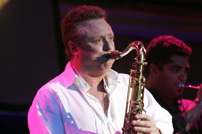 Brian Travers of UB40 performs in concert in April 2006. Travers has died at the age of 62. File Photo by Michael Bush/UPI