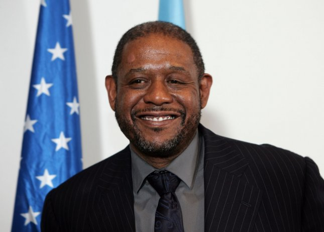Oscar-winning US actor Forest Whitaker delivers a speech at the UNESCO headquarters in Paris, February 7, 2012. The International Institute for Peace (IIP), co-founded by UNESCO Goodwill Ambassador Whitaker, formally joined forces with the Organization with a signing agreement between UNESCO, the Institute, Rutgers University (New Jersey, USA) and the Government of the United States of America. UPI/Eco Clement