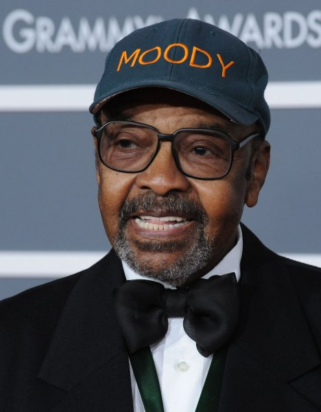 James Moody, shown at the 51st annual Grammy Awards at the Staples Center in Los Angeles February 8, 2009. (UPI Photo/ Jim Ruymen)