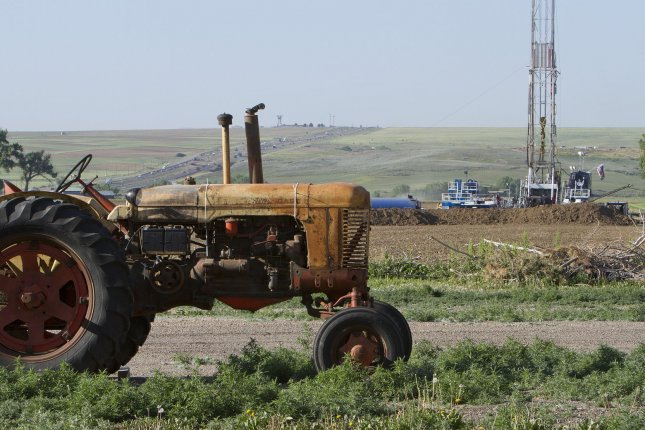 North Dakota oil production reaches all-time high in March and nearly all of that came from the Bakken and Three Forks area in the state, the government said. UPI/Gary C. Caskey