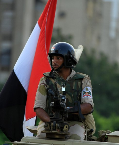 The Egyptian military admitted it made a mistake when it sentenced a 4-year-old boy to life in prison. Officials confused the child with a 16-year-old involved in a riot in 2014. File Photo by Ahmed Jomaa/UPI