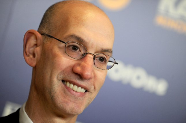 NBA Commissioner Adam Silver. Photo by Dennis Van Tine/UPI