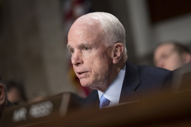 Sen. John McCain recently made the extraordinary remark that he and President Donald Trump had not met even once to discuss the administration's plans for increasing the nation's military forces. How can that be? File Photo by Kevin Dietsch/UPI