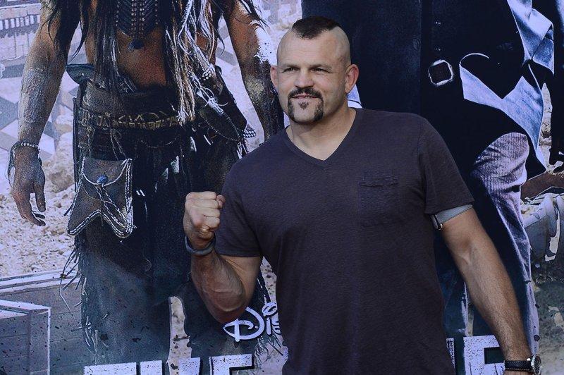UFC legend Chuck Liddell arrives for the world premiere of Disney/Jerry Buckheimer Films The Lone Ranger on June 22, 2013 at Disney's California Adventure in Anaheim, California. File photo by Jim Ruymen/UPI