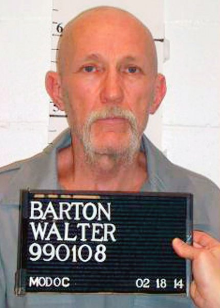 Barton was convicted after five trials in the 1991 stabbing death of an 81-year-old Missouri woman. Photo by Missouri Department of Corrections/UPI