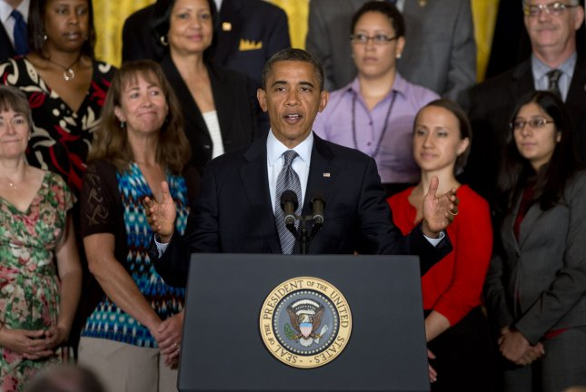 President Barack Obama supports ending the Bush-era tax cuts for those earning more than $250,000 annually and small businesses largely agree. July 9 file photo. UPI/Kevin Dietsch.