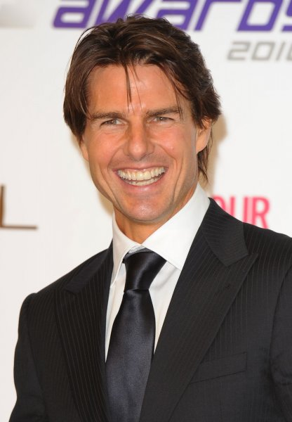 American actor Tom Cruise attends the press room at The National Movie Awards at Royal Festival Hall in London on May 26, 2010. UPI/Rune Hellestad