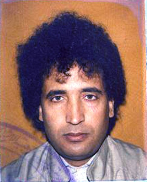 In a photo released by the Crown Office, Lockerbie bomber Abdel Basset al-Megrahi, the Libyan man who was convicted of the deadly 1988 bombing of Pan Am Flight 103, is shown in his passport picture on August 20, 2009. Al-Megrahi, diagnosed with terminal cancer, was released by Scottish officials on compassionate grounds and returned to Libya. UPI/Crown Office