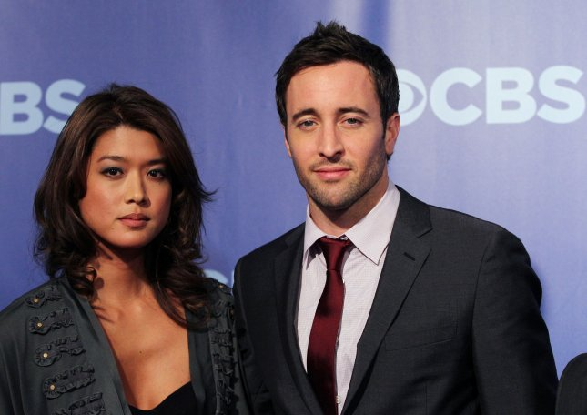 Alex O'Loughlin met coole, vrouw Malia Jones