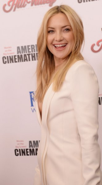 Kate Hudson at the American Cinemathque gala on Oct. 30. The actress recently discussed her personal life with Harper's Bazaar magazine. Photo by Jim Ruymen/UPI