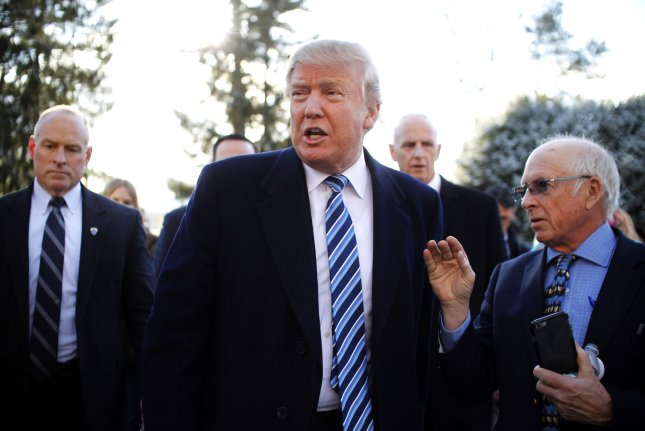 Republican Presidential candidate Donald Trump flirted again with the possibility of a third-party presidential run after accusing the Republican National Committee of treating him unfairly. Photo by Matthew Healey/UPI