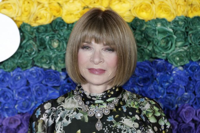 Anna Wintour arrives on the red carpet at The 73rd Annual Tony Awards at Radio City Music Hall on June 9 in New York City. The editor turns 70 on November 3. File Photo by John Angelillo/UPI