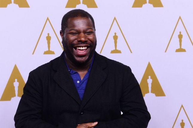 Director Steve McQueen attends the 86th annual Academy Awards nominees luncheon in Beverly Hills, California on February 10, 2014. His Academy Award-nominated film, 12 Years a Slave was screened at the United Nations on February 26. The powerful film rendered UN Secretary-General Ban Ki-moon speechless. (UPI/Jim Ruymen)