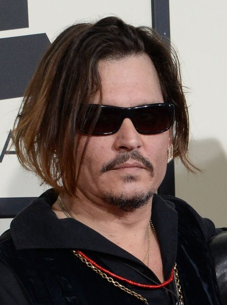 Johnny Depp at the Grammy Awards on February 15. The actor is the father of Lily-Rose Depp. File Photo by Jim Ruymen/UPI