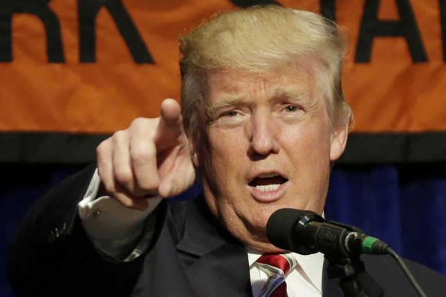 Republican candidate for president Donald Trump eked ahead of rival Hillary Clinton according to the latest UPI/CVoter daily tracking poll results. Photo by John Angelillo/UPI
