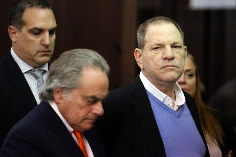 Harvey Weinstein arraigned