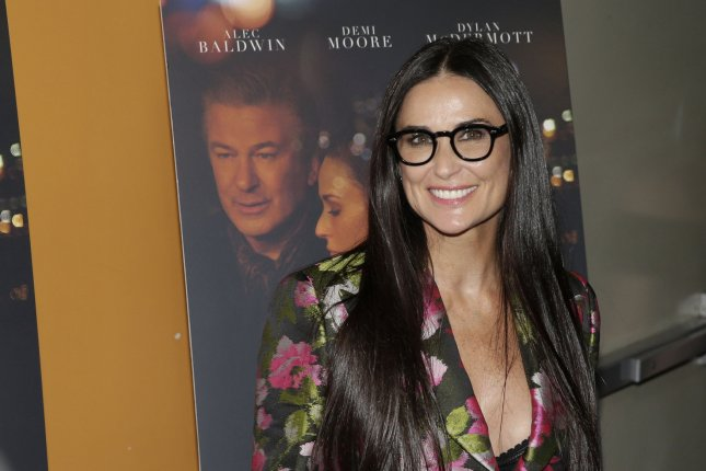 Demi Moore attended Saturday's taping of the Comedy Central roast of her ex-husband, Bruce Willis. File Photo by John Angelillo/UPI
