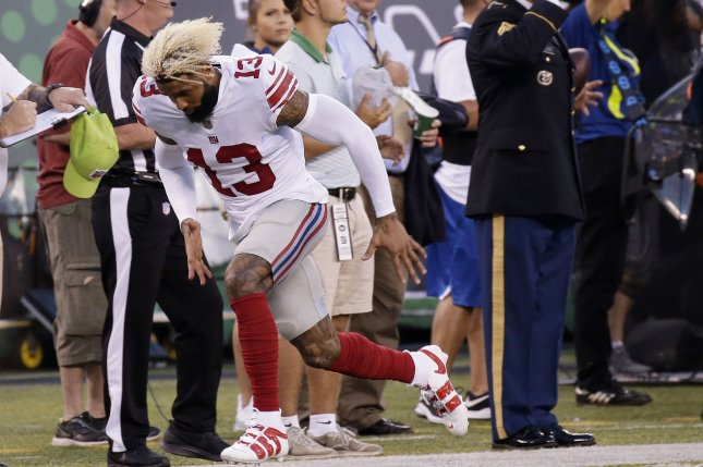 big sale 286ca e3eee Odell Beckham: 'I don't know' if Eli Manning reason for ...