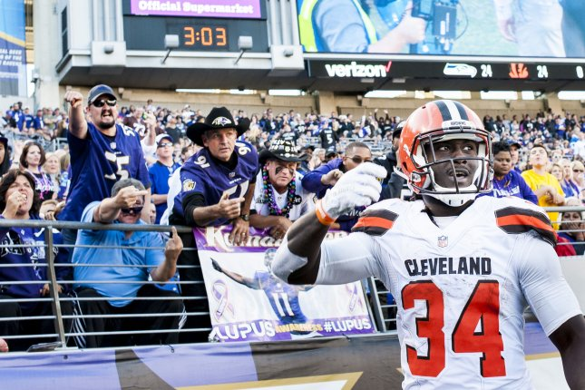 big sale d5223 f0212 Isaiah Crowell: Cleveland Browns bring back RB with one-year ...