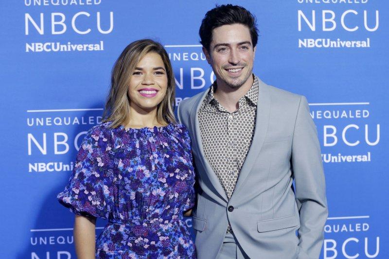 Season 4 of Superstore, starring America Ferrera and Ben Feldman (R), is to premiere Thursday. File Photo by John Angelillo/UPI