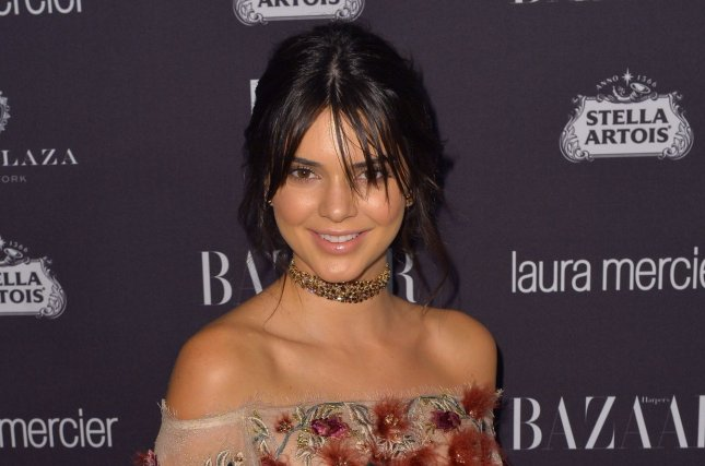 Kendall Jenner at the Harper's Bazaar Icons party on September 9. File Photo by Andrea Hanks/UPI
