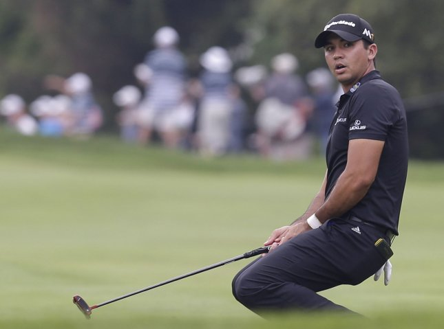 Jason Day of Australia dropped out of a tournament in Mexico after falling ill with ear infections and the flu. John Angelillo/UPI