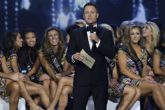 Chris Harrison, the Bachelor in Paradise host, issued a statement Tuesday after ABC suspended production on Season 4. File Photo by John Angelillo/UPI