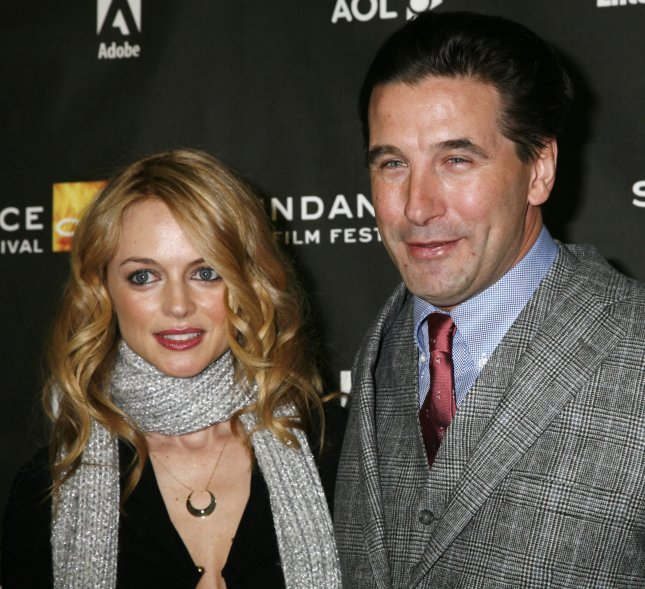 Actress Heather Graham and actor William Baldwin arrive for a screening of their film Adrift in Manhattan at the Racquet Club during the Sundance Film Festival in Park City, Utah on January 21, 2007. (UPI Photo/David Silpa)