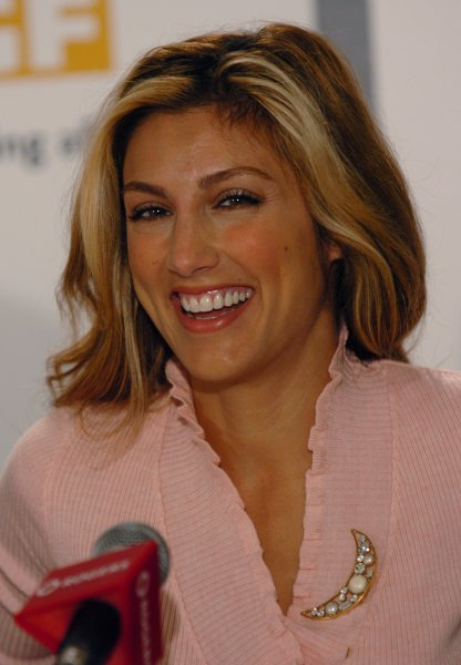Jennifer Esposito attends the press conference for Crash at the Four Seasons Hotel during the Toronto International Film Festival September 11, 2004 in Toronto, Canada. (UPI Photo/Christine Chew)