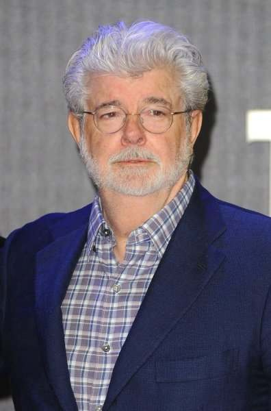 American filmmaker George Lucas attends the European premiere of Star Wars - The Force Awakens in London in December. On Friday, Lucas abandoned plans to build a museum dedicated to his work in Chicago after a lawsuit blocked development at a lakefront site. The cancellation of the 17-acre project will cost Chicago a private investment of $743 million. File Photo by Paul Treadway/ UPI
