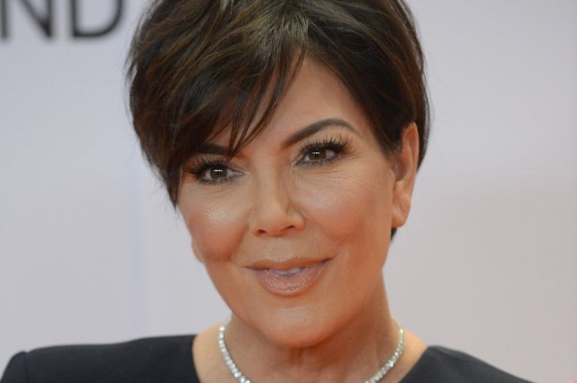 Kris Jenner debuted icy blonde hair in a photo on daughter Kim Kardashian's Instagram account Monday. File Photo by Jim Ruymen/UPI