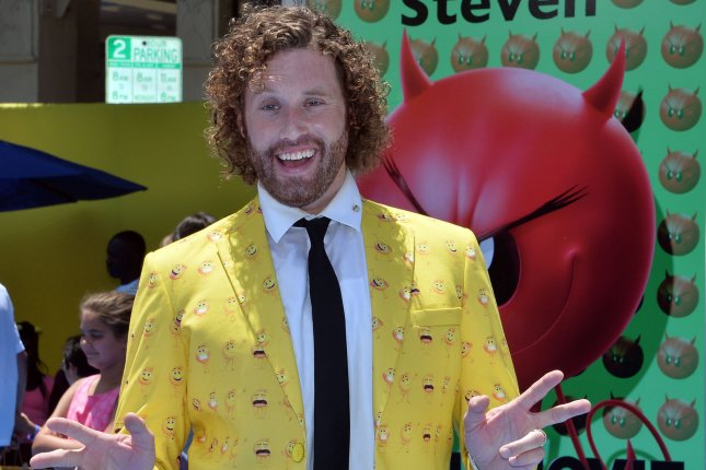 T.J. Miller has been accused on sexual and physical assault while Comedy Central has canceled his animated series, The Gorburger Show. File Photo by Jim Ruymen/UPI