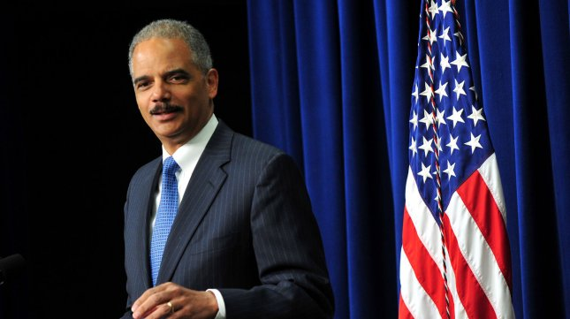 U.S. Attorney General Eric Holder in Washington, D.C. on April 18, 2012. UPI/Kevin Dietsch