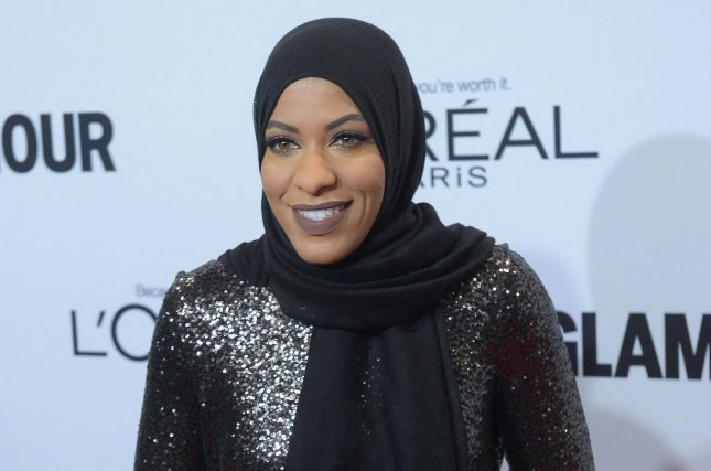 Ibtihaj Muhammad said she was proud to have inspired a hijab-wearing Barbie doll in her likeness. File Photo by Jim Ruymen/UPI