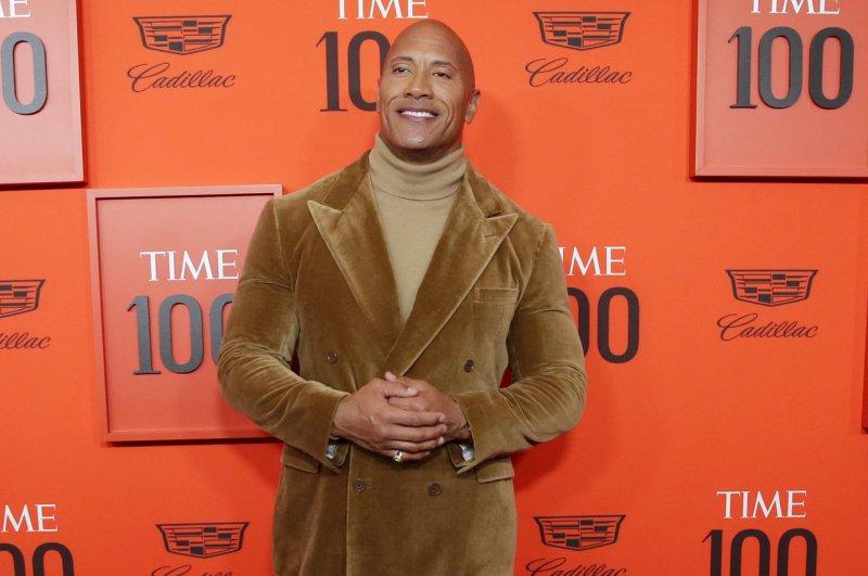 Dwayne Johnson will receive the Generation Award at the MTV Movie & TV Awards on Monday. File Photo by John Angelillo/UPI