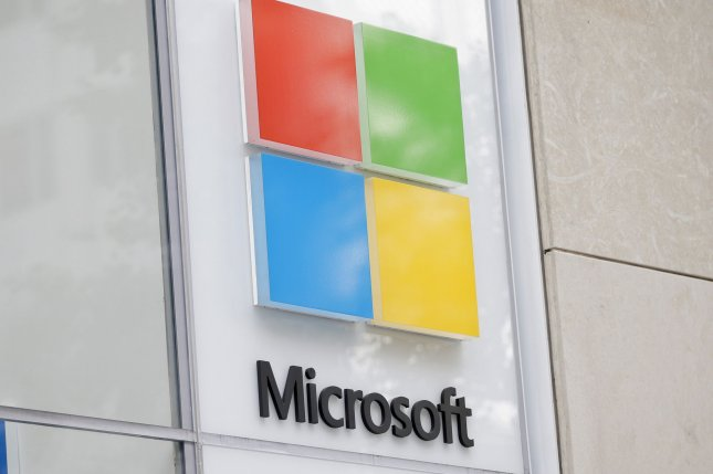 Microsoft's plan includes removing all carbon emissions it's ever put into the atmosphere in the last 45 years. File Photo by John Angelillo/UPI