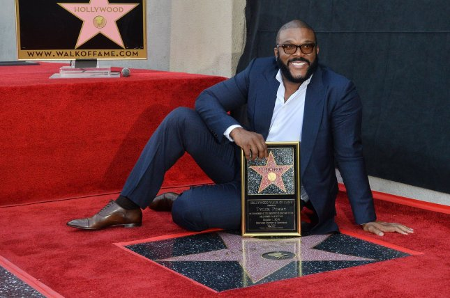 Tyler Perry is to be honored at next month's Emmy Awards ceremony. File Photo by Jim Ruymen/UPI