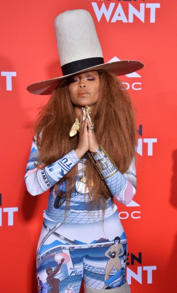 Erykah Badu attends the premiere of What Men Want at the regency Village Theatre in the Westwood section of Los Angeles on January 28, 2019. The singer/actor turns 50 on February 26. File Photo by Jim Ruymen/UPI