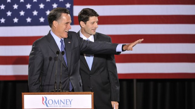 Sources with intimate knowledge of the Romney campaign's decision say Paul Ryan will be Romney's VP choice. UPI/Brian Kersey