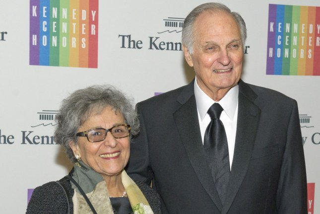 Arlene and Alan Alda in Washington, D.C., in 2013. File Photo by Ron Sachs/Pool