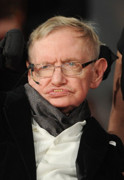 A nurse has been struck off the nursing register, after allegedly failing to provide good care to English physicist Stephen Hawking, shown in this February 8, 2015 photo, a ruling published Tuesday shows. Hawking died on March 14, 2018. He was 76. File Photo by Paul Treadway/UPI