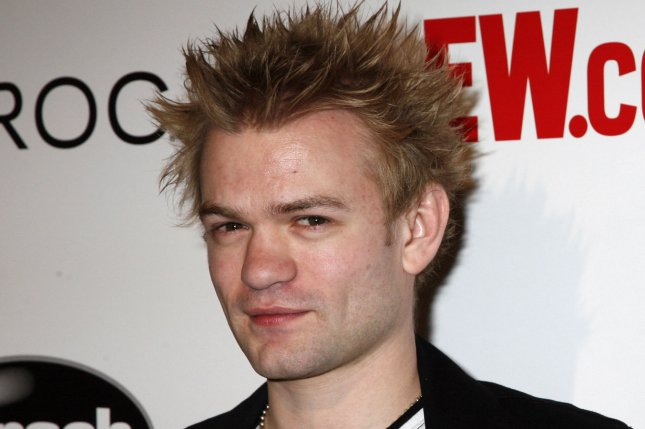 Sum 41 singer Deryck Whibley arrives for the Entertainment Weekly Grammy after-party in West Hollywood, California on February 10, 2008. (UPI Photo/David Silpa)